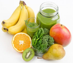 Green smoothie to boost fibre