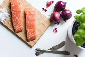 Salmon to help reduce cellulite naturally