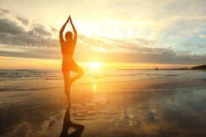 Yoga helps to reduce cellulite